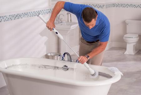 Turbo Scrub schoonmaakborstel | Krachtige elektrische borstel voor al je schoonmaakklusjes