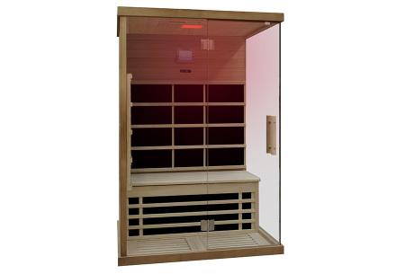 Interline sauna | Keuze uit 4 modellen infrarood sauna's Carbon