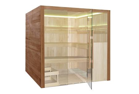 Interline sauna | Keuze uit 4 modellen infrarood sauna's Royal de luxe