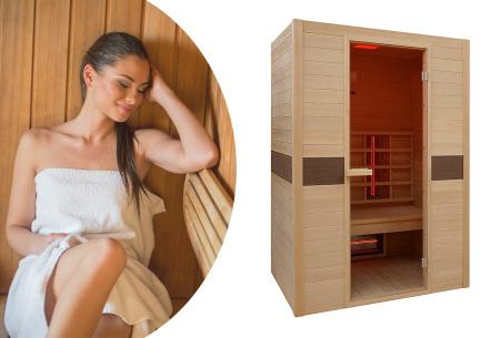 Interline sauna | Keuze uit 4 modellen infrarood sauna's