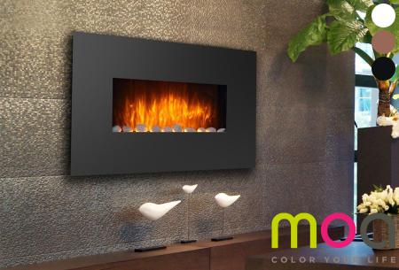 Moa elektrische sfeerhaard in 5 uitvoeringen | Breng sfeer en warmte in je interieur!