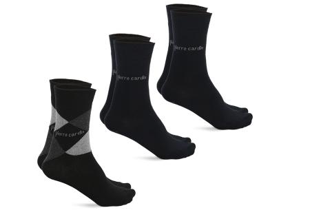 Pierre Cardin herensokken 3, 6 of 12 paar | Topkwaliteit sokken met ultiem draagcomfort zwart
