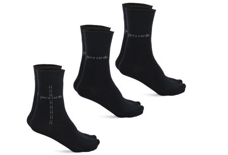 Pierre Cardin herensokken 3, 6 of 12 paar | Topkwaliteit sokken met ultiem draagcomfort marine