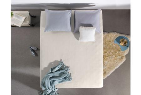 Dreamhouse hoeslakens | 100% hoogwaardig glad katoen in 6 kleuren crème