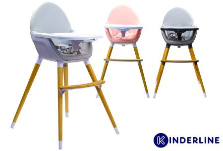 Kinderline kinderstoel | Hippe meegroeistoel in Scandinavisch design