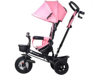 Kinderline buggy met driewieler | Groeit met je kind mee Roze