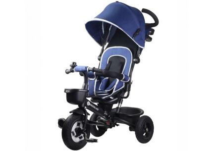 Kinderline buggy met driewieler | Groeit met je kind mee Blauw