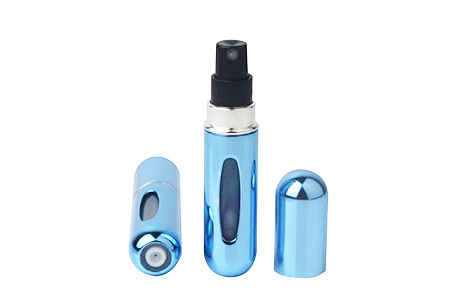 Navulbare parfumverstuiver | Neem je favoriete parfum overal mee naartoe lichtblauw