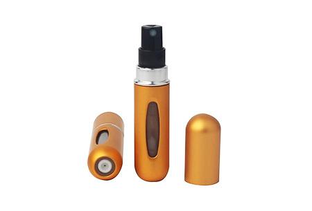Navulbare parfumverstuiver | Neem je favoriete parfum overal mee naartoe mat goudkleurig