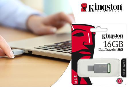Kingston USB stick | Keuze uit 16 tot 128GB