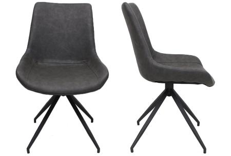 Oscar stoelen | Moderne design eetkamerstoel met stoere uitstraling