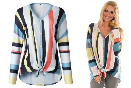 Loose fit v-neck shirt | Keuze uit 17 kleuren - Je favoriete nieuwe item!  C wit