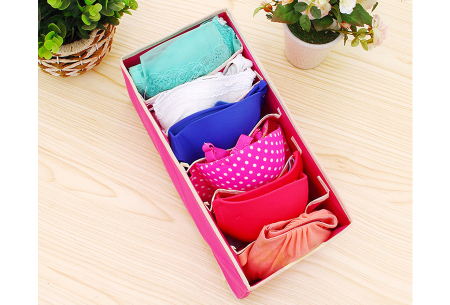 Kleding organizerset 4-delig | Overzichtelijke opbergboxen voor je garderobe