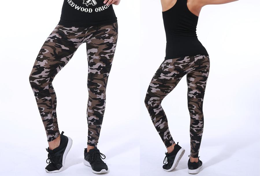 Camouflage legging C