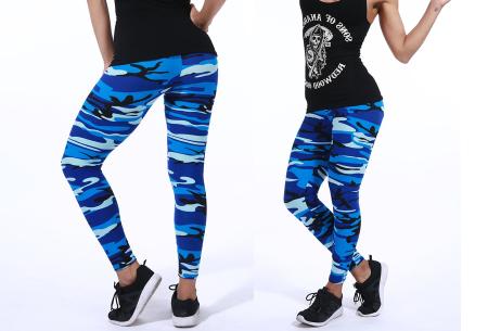 Camouflage legging | Trendy & comfortabele legging met legerprint in 7 uitvoeringen E