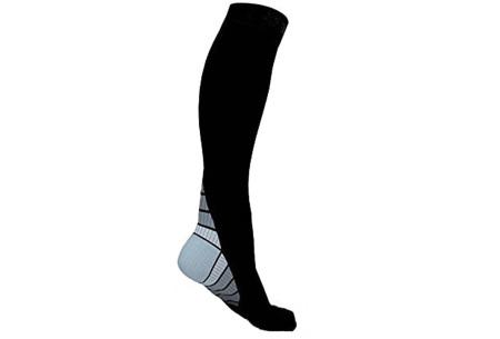Compressiesokken | Helpt bij diverse beenklachten & verbetert de sportprestaties  grijs