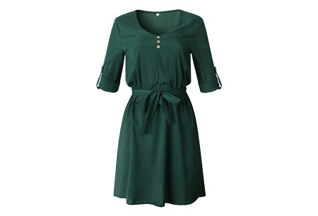 Blousejurk | Voor een stijlvolle en classy look Groen