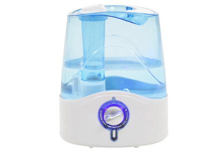 Ultrasone luchtbevochtiger | Keuze uit 2 modellen: 4 of 4,5 liter inhoud waterreservoir Model #1