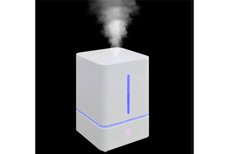 Ultrasone luchtbevochtiger | Keuze uit 2 modellen: 4 of 4,5 liter inhoud waterreservoir