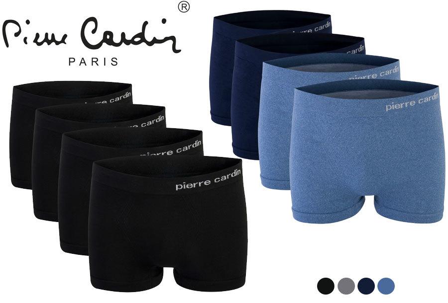 67% korting - Pierre Cardin 4-pack boxershorts <br/>EUR 11.99 <br/> <a href='https://tc.tradetracker.net/?c=24550&m=1018105&a=230468&u=https%3A%2F%2Fwww.vouchervandaag.nl%2Fpierre-cardin-heren-boxers-boxershorts-onderbroeken-4-pack' target='_blank'>bekijk product</a>