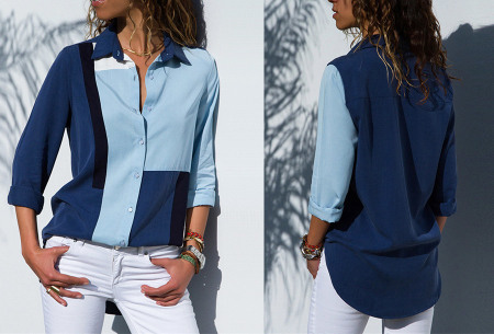 Multicolor blouse | Stijlvolle blouse verkrijgbaar in 11 prints #1