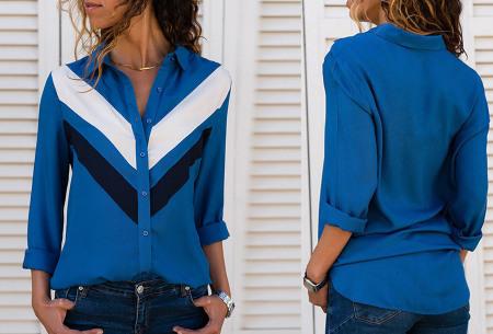 Multicolor blouse | Stijlvolle blouse verkrijgbaar in 11 prints #4