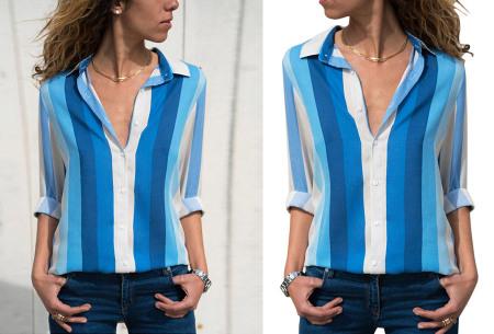 Multicolor blouse | Stijlvolle blouse verkrijgbaar in 11 prints #6
