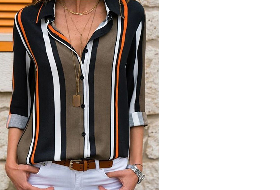 Multicolor blouse - Maat XL - #7