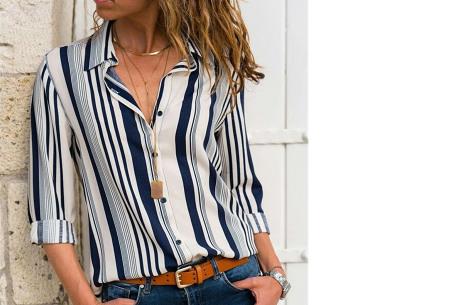 Multicolor blouse | Stijlvolle blouse verkrijgbaar in 11 prints #8