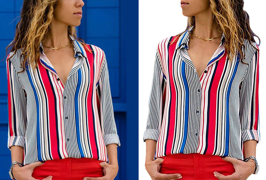 Multicolor blouse - Maat S - #9