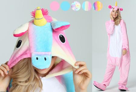Unicorn onesie | Warm, zacht en comfortabel huispak met eenhoorn ontwerp!