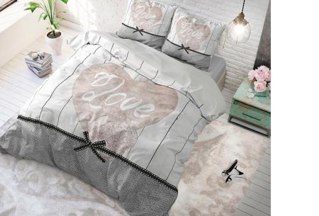 Luxe print dekbedovertrekken van Dreamhouse | Voor een comfortabele nachtrust  Love anyway