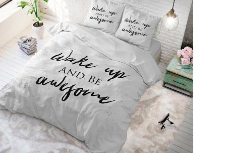 Luxe print dekbedovertrekken van Dreamhouse | Voor een comfortabele nachtrust  wake up