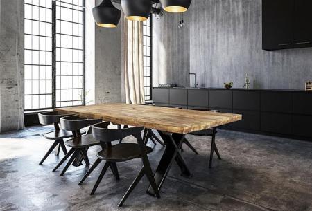 Woodcraft tafel | Van Indonesisch recycled hout