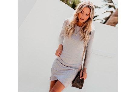 Longsleeve t-shirt dress | Luchtige en comfortabele jurk