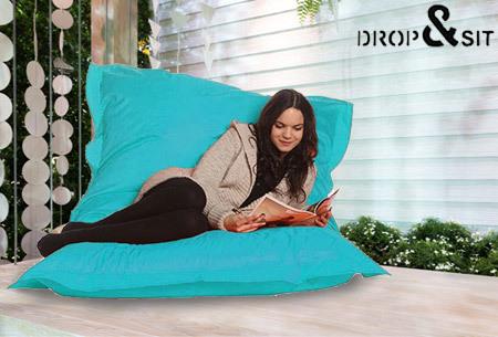 Drop&Sit zitzak nu met mega korting!