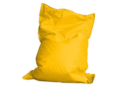 Drop & Sit zitzak | Keuze uit 24 kleuren & 3 formaten - nu extra voordelig!  geel