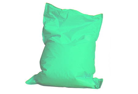 Drop & Sit zitzak | Keuze uit 24 kleuren & 3 formaten - nu extra voordelig!  light aquamarine