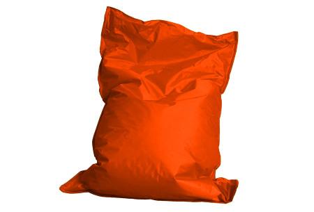 Drop & Sit zitzak | Keuze uit 24 kleuren & 3 formaten - nu extra voordelig!  oranje