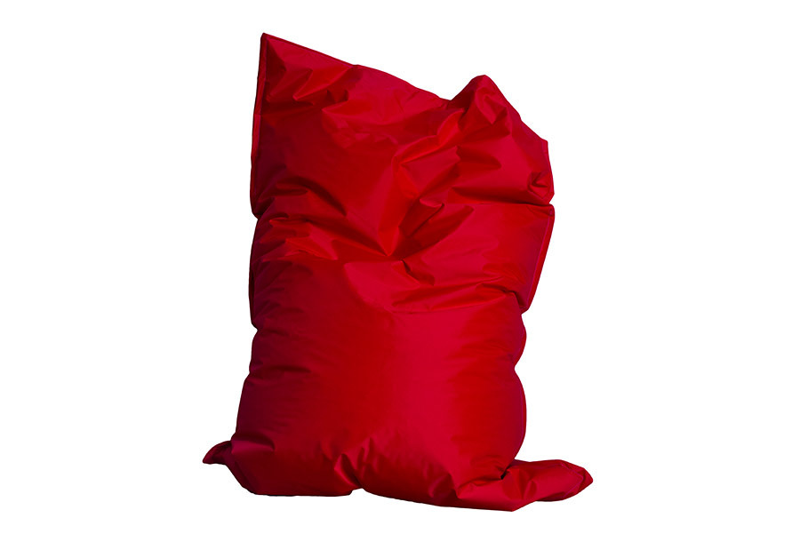 Drop & Sit zitzak Rood - 130 x 150 cm