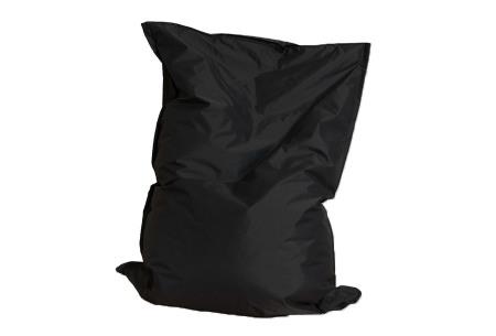 Drop & Sit zitzak | Keuze uit 24 kleuren & 3 formaten - nu extra voordelig!  zwart