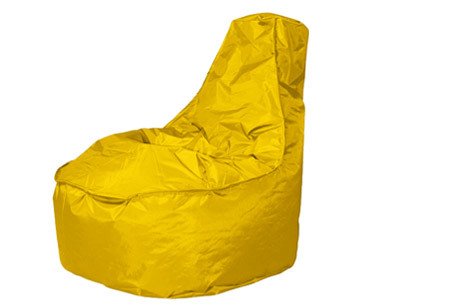 Drop & Sit NOA zitzak stoel | Keuze uit 2 formaten en 24 kleuren geel