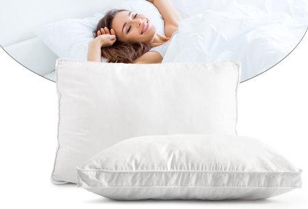 Zensation satin boxkussen 1 + 1 gratis | Ondersteunt de rug en nek tijdens het slapen