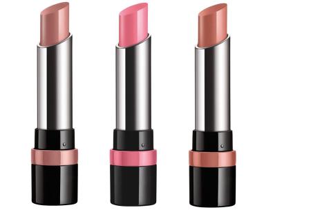 Rimmel London The Only 1 Lipstick | Intense langhoudende kleuren, comfort & hydratatie Set A
