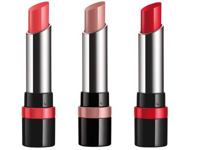 Rimmel London The Only 1 Lipstick | Intense langhoudende kleuren, comfort & hydratatie Set C