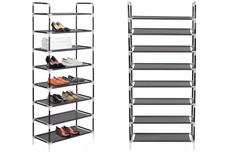 Metalen schoenenrek | Stevig opbergsysteem voor je schoenen + Gratis verzending!