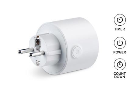 Sinji Smart Wifi stopcontact | Slimme stekker met EU plug