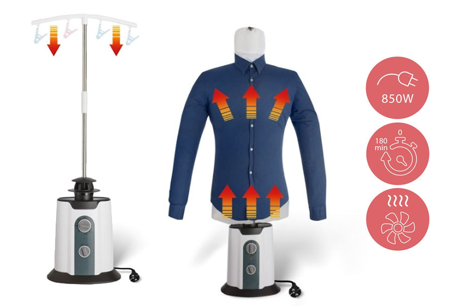 Automatische strijkmachine Bovenkledingdroger