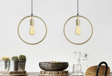 Stavanger hanglamp | Voor een Scandinavische look verkrijgbaar in 3 kleuren