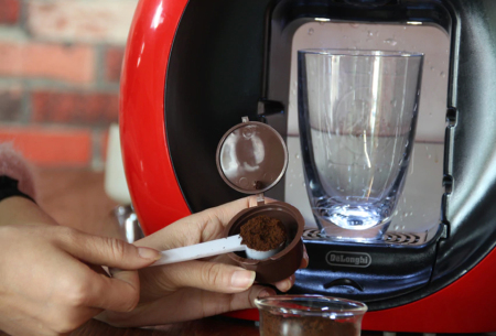 Hervulbare koffiecups voor Nespresso of Dolce Gusto | Set van 3 capsules